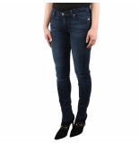 7 For All Mankind The skinny bair park avenue blauw