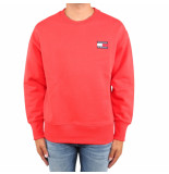Tommy Hilfiger Tommy jeans badge crew rood
