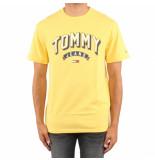 Tommy Hilfiger Tjm eential 3d logo tee geel