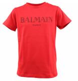 Balmain T-shirt rood