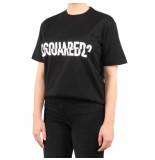 Dsquared2 T-shirt zwart