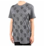 Reinders T-shirt logo grijs