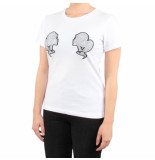 Reinders T-shirt slim fit wit