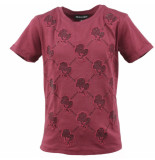 Reinders t-shirt logo rood
