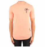 Off The Pitch Off printed tee roze