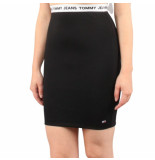Tommy Hilfiger Tjw bodycon skirt zwart