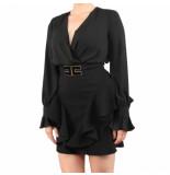 Elisabetta Franchi Moves Woens dress zwart
