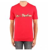 Love Moschino Mc reg t logo corivo rood