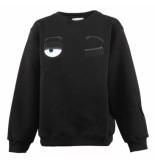 Chiara Ferragni Sweatshirt kids flirting zwart