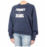 Tommy Hilfiger Tjw logo raglan sweatshirt blauw