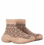Reinders Rr print sneakers bruin