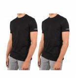 Dsquared2 T-shirt twin pack zwart