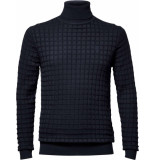 G-Star Core table turtle knit lpull blauw