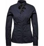 G-Star Syenite slim bow shirt wmn l\s blauw