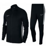 Nike Trainingspak dry academy tracksuit black white zwart
