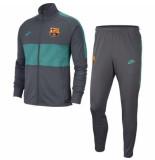 Nike Fc barcelona trainingspak 2019-2020 dark smoke grijs