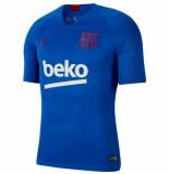 Nike Fc barcelona trainingsshirt 2019-2020 lyon blue blauw