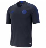 Nike Chelsea fc trainingsshirt 2019-2020 obsidian blauw