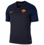Nike As roma trainingsshirt 2019-2020 dark obsidian blauw
