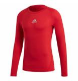 Adidas Ondershirt alphaskin thermoshirt ls rood