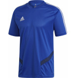 Adidas Tiro19 track shirt kids blue/white