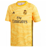 Adidas Real madrid keepersshirt 2019-2020 kids geel