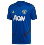 Adidas Manchester united trainingsshirt 2019-2020 blauw