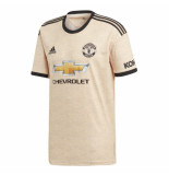 Adidas Manchester united uitshirt 2019-2020 beige