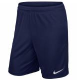 Nike Voetbalbroek park ii knit short kids navy blauw