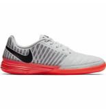 Nike Zaalvoetbalschoenen lunargato ii platinum wit