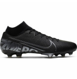 Nike Mercurial superfly academy 7 fg/mg black zwart