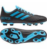 Adidas Predator 19.4 fxg black cyan zwart