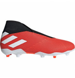 Adidas Nemeziz 19.3 laceless fg active red rood