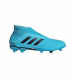 Adidas Predator 19.3 laceless fg bright cyan black blauw