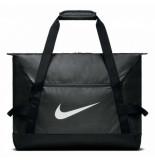 Nike Sporttas academy team medium black zwart