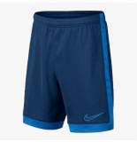 Nike Trainingsbroekje dry academy short kids blue blauw