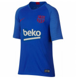 Nike Fc barcelona trainingsshirt 2019-2020 kids blue blauw