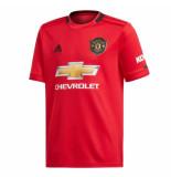 Adidas Manchester united thuisshirt 2019-2020 kids rood