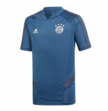 Adidas Bayern munchen trainingsshirt 2019-2020 kids blauw