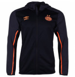 Umbro Psv trainingsjack hooded 2019-2020 oranje zwart