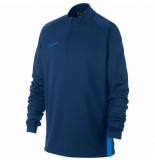 Nike Dry academy drill top kids coastal blue blauw