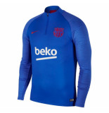 Nike Fc barcelona drill top 2019-2020 lyon blue blauw