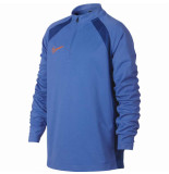Nike Dry academy drill top pacific blue blauw