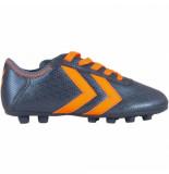 Hummel Voetbalschoenen spirit junior fg oranje blauw
