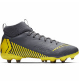Nike Superfly 6 academy kids fg/mg dark grey grijs