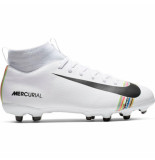 Nike Mercurial superfly 6 academy cr7 kids fg white wit