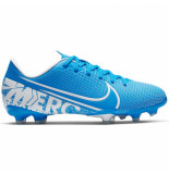 Nike Mercurial vapor 13 academy kids fg/mg blue hero