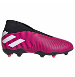 Adidas Nemeziz 19.3 laceless fg kids show pink