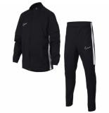 Nike Trainingspak dry academy tracksuit kids black zwart