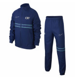 Nike Dry cr7 trainingspak kids blue void blauw